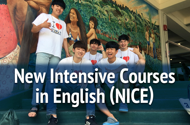 New Intensive Courses in English (NICE)