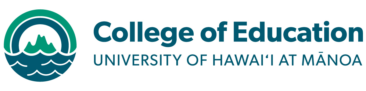 Logo for College of Education (COE) at the University of Hawaii at Manoa